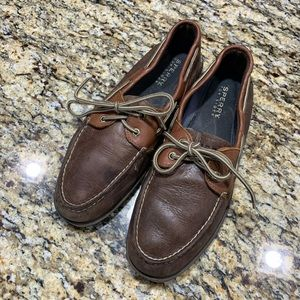SPerry Two tone Leather Boat Shoe 10.5